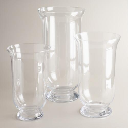 European Glass Flared Hurricanes