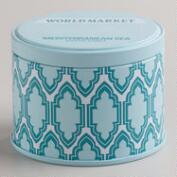 Mediterranean Sea Travel Candle Tin