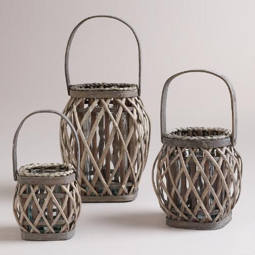 Willow Woven Lanterns