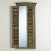 Gray Gianna Shutter Mirror