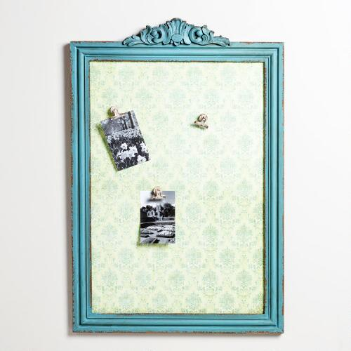 Blue Lila Wallpaper Memo Board
