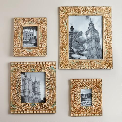 Blue Leighton Wall Frames