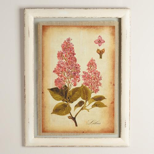 Lilas Framed Wall Art