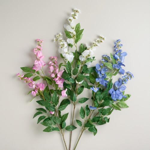 Wisteria Sprays, Set of 3