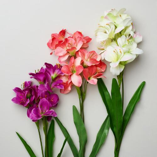 Mini Amaryllis Sprays, Set of 3