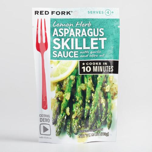 Red Fork Lemon Asparagus Sauce