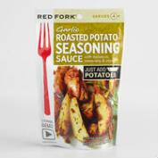 Red Fork Garlic Roasted Potato Seasoning Sauce, Set of 8