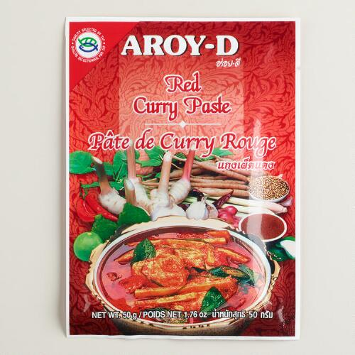 Aroy-D Red Curry Paste