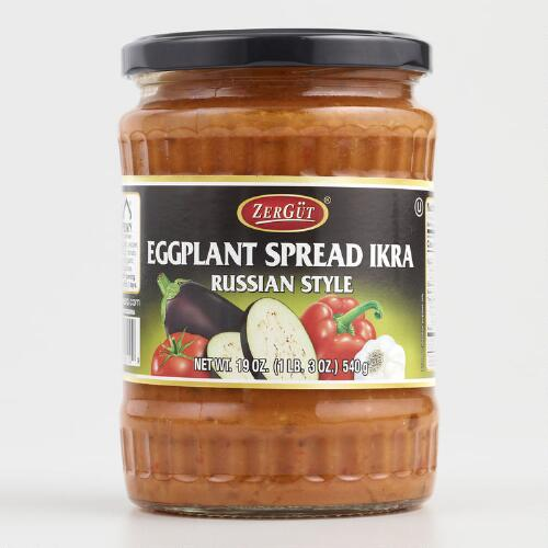 Zergut Ikra Eggplant Spread, Set of 6