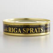Smoked Riga Sprats in Oil, Set of 12