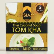 deSiam Instant Tom Kha Coconut Soup, Set of 12