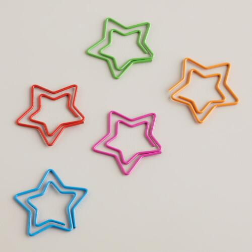 Star Paper Clips