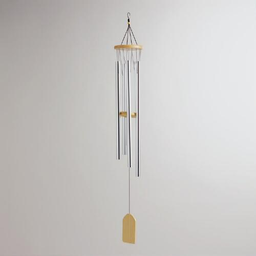 Chrome Tube Wind Chime