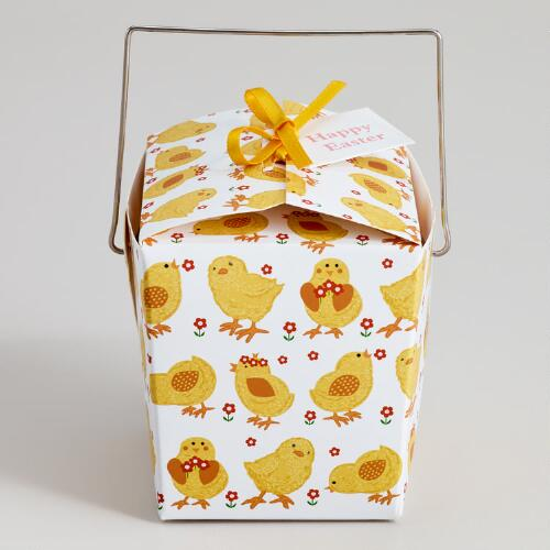 Mini Chicks Takeout Boxes, Set of 12