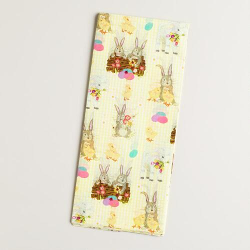 Springtime Characters Tissue