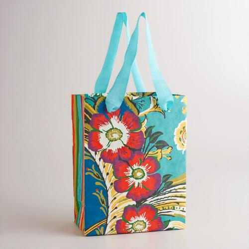 Small Gemma Flower Gift Bag