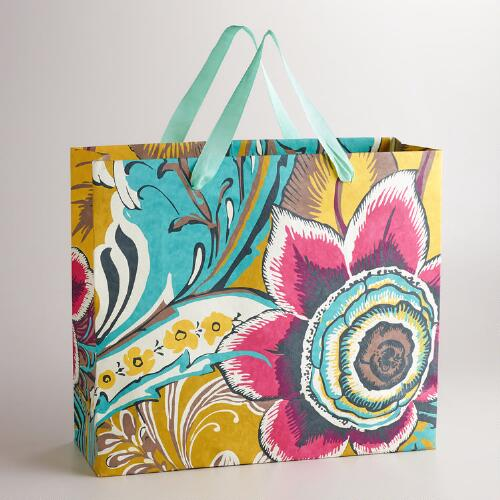 Extra Large Gemma Flower Gift Bag