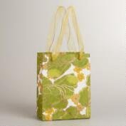 Small Yellow and Green Poppy Gift Bag