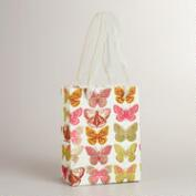 Small Ivory Butterfly Gift Bag