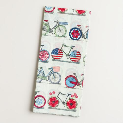 Spring Bicycles Giftwrap Tissue