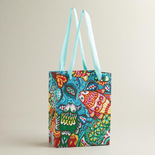 Small Fish Aegean Shore Gift Bag