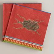 Beetle Beverage Napkins, 16-Count