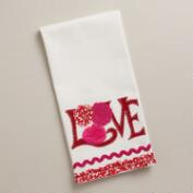 Love Decorative Tea Towel