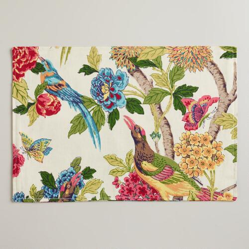 Whippoorwill Placemats, Set of 4
