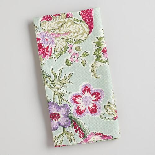 Manor Floral Napkins, Set of 4