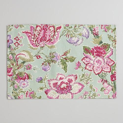 Manor Floral Placemats, Set of 4
