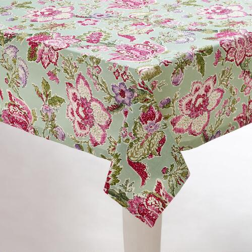 Manor Floral Tablecloth