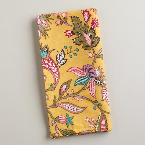 Sundance Floral Napkins, Set of 4