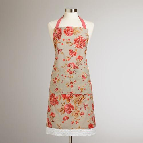 Elsa Chintz Laced Apron