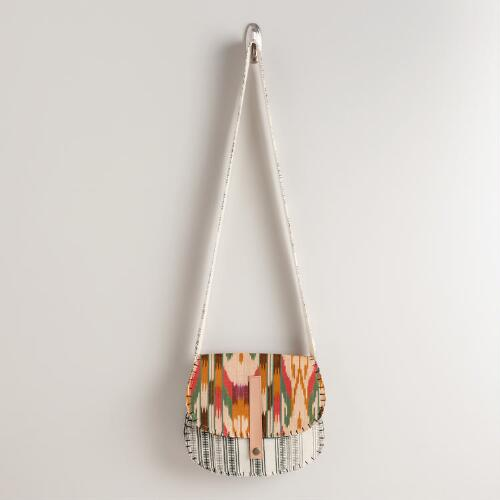 Ikat Saddlebag