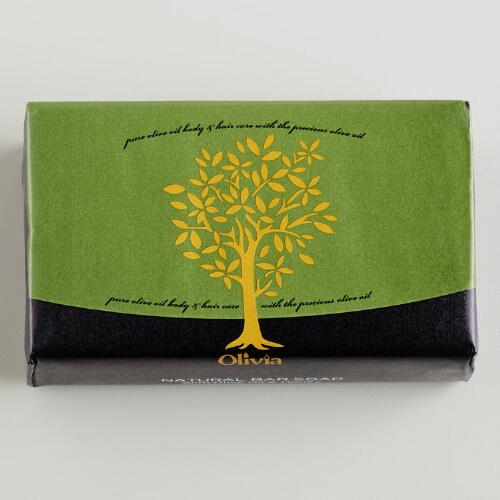 Olivia Honey Olive Oil Bar Soap