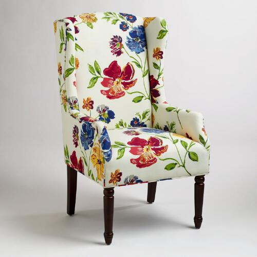 Victoria Upholstered Wingback Chair
