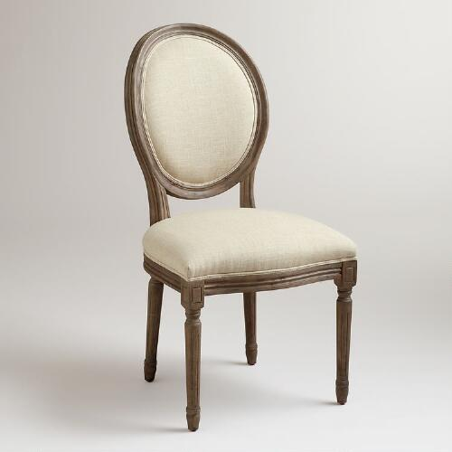 Linen Ella Side Chairs, Set of 2