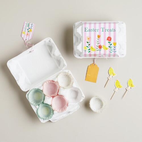 Egg Box Mini Cupcake Treat Kit