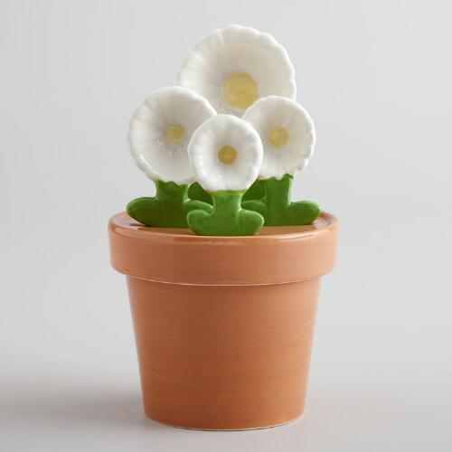 Daisy Flowerpot Measuring Set