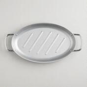Nonstick Oval Grill Pan