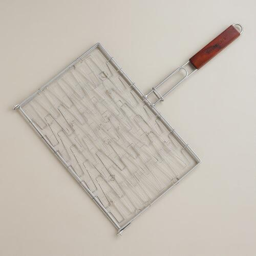 Flexible Wire Topper Grilling Basket