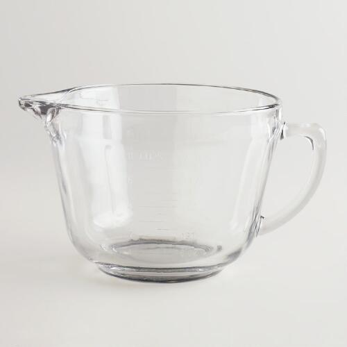 Glass Batter Bowl