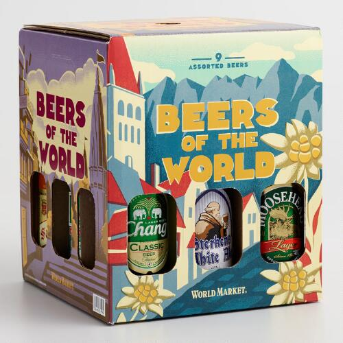 World Bazar: Beers Of The World, 9-Pack