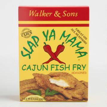Slap Ya Mama Cajun Fish Fry Set of 2