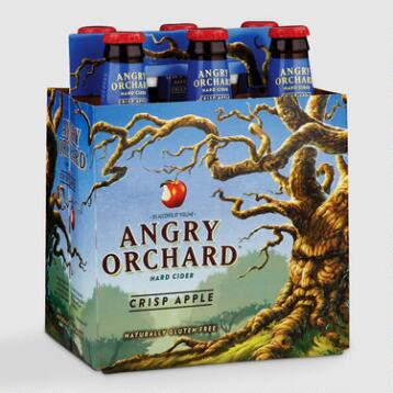 Angry Orchard Crisp Apple Cider, 6-Pack
