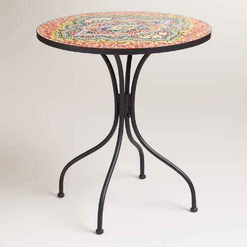 Medallion Cadiz Mosaic Bistro Table