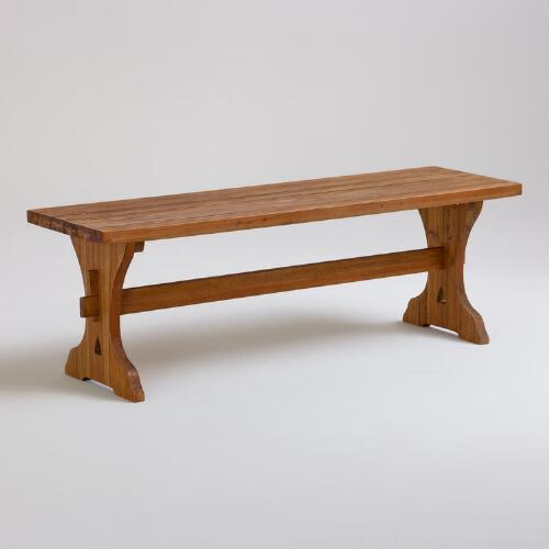 Jigsaw Backless Dining Bench