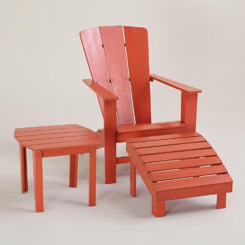 Spicy Orange Coastal Adirondack Collection