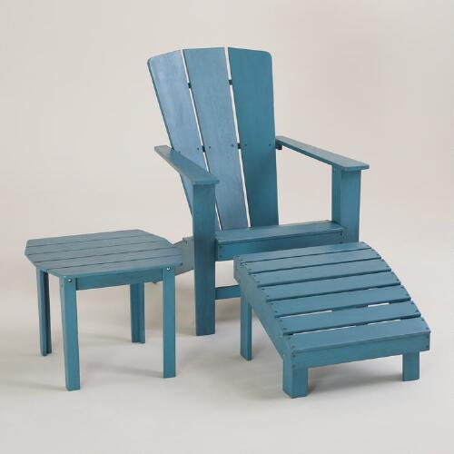 Blue Coastal Adirondack Collection