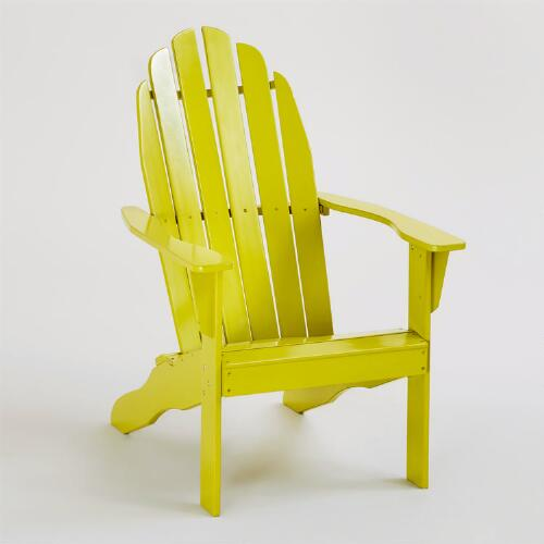 Apple Green Classic Adirondack Chair
